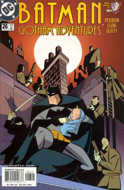 Batman: Gotham Adventures #26 comic books - cover scans photos Batman: Gotham Adventures #26 comic books - covers, picture gallery