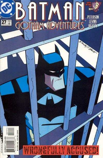 Batman: Gotham Adventures #27 comic books - cover scans photos Batman: Gotham Adventures #27 comic books - covers, picture gallery