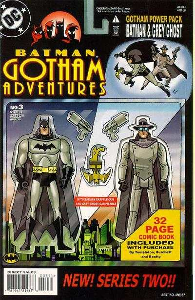 Batman: Gotham Adventures #3 comic books - cover scans photos Batman: Gotham Adventures #3 comic books - covers, picture gallery