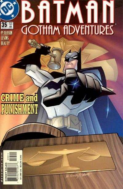 Batman: Gotham Adventures #35 comic books for sale