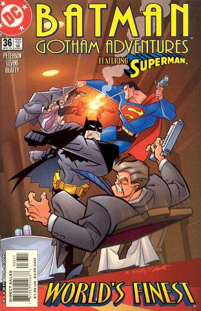 Batman: Gotham Adventures #36 comic books for sale