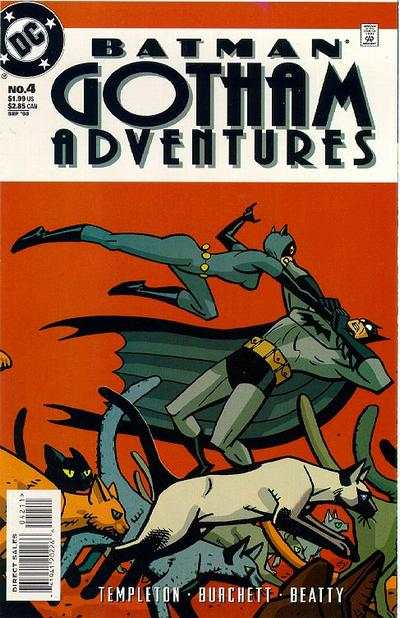Batman: Gotham Adventures #4 comic books - cover scans photos Batman: Gotham Adventures #4 comic books - covers, picture gallery