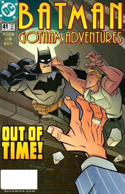 Batman: Gotham Adventures #41 comic books - cover scans photos Batman: Gotham Adventures #41 comic books - covers, picture gallery