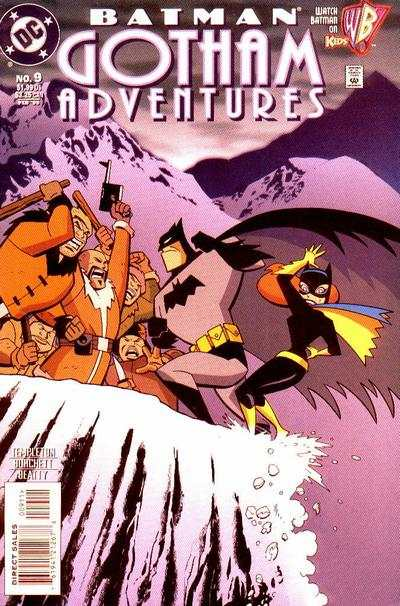 Batman: Gotham Adventures #9 comic books - cover scans photos Batman: Gotham Adventures #9 comic books - covers, picture gallery