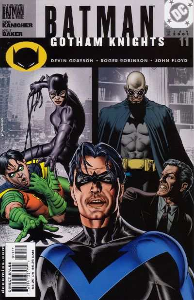 Batman: Gotham Knights #11 comic books - cover scans photos Batman: Gotham Knights #11 comic books - covers, picture gallery