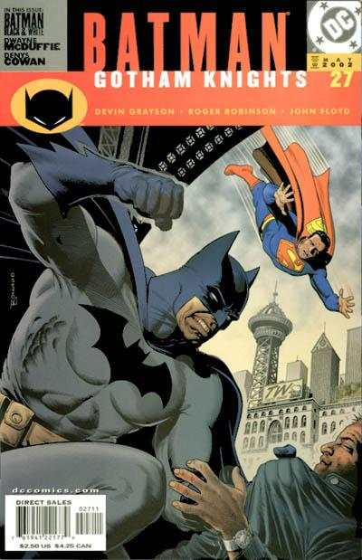 Batman: Gotham Knights #27 comic books for sale