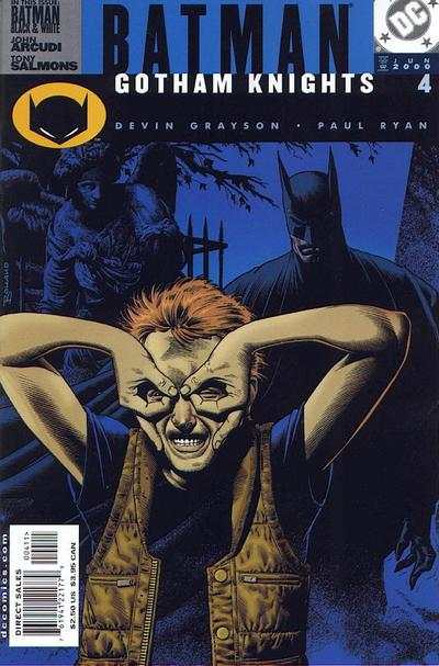 Batman: Gotham Knights #4 comic books - cover scans photos Batman: Gotham Knights #4 comic books - covers, picture gallery