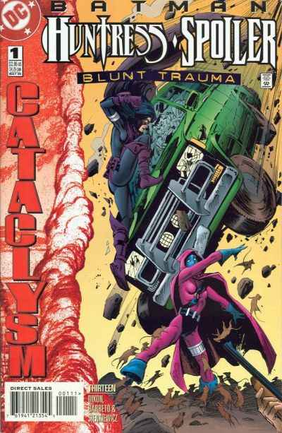 Batman/Huntress: Spoiler: Blunt Trauma #1 Comic Books - Covers, Scans, Photos  in Batman/Huntress: Spoiler: Blunt Trauma Comic Books - Covers, Scans, Gallery