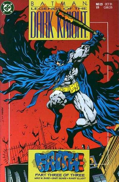 Batman Legends Dark Knight comic books