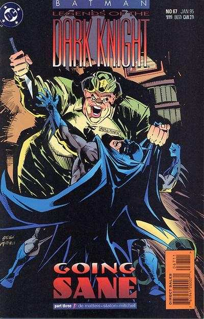 Batman: Legends of the Dark Knight #67 Comic Books - Covers, Scans, Photos  in Batman: Legends of the Dark Knight Comic Books - Covers, Scans, Gallery