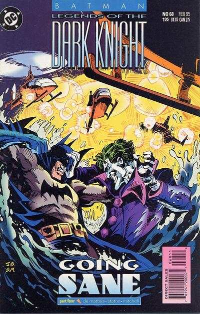 Batman: Legends of the Dark Knight #68 comic books for sale