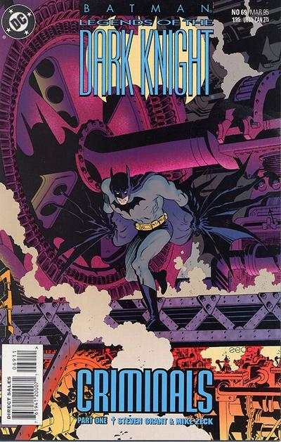 Batman: Legends of the Dark Knight #69 Comic Books - Covers, Scans, Photos  in Batman: Legends of the Dark Knight Comic Books - Covers, Scans, Gallery