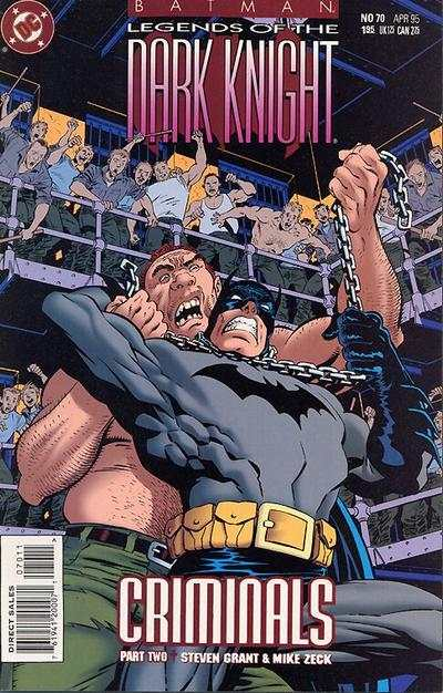 Batman: Legends of the Dark Knight #70 comic books for sale