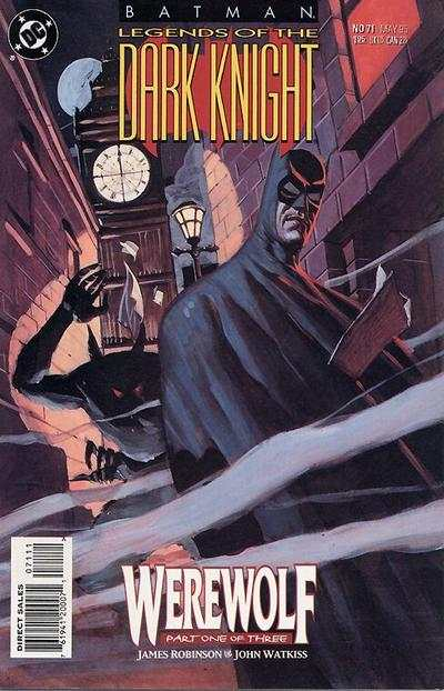 Batman: Legends of the Dark Knight #71 comic books - cover scans photos Batman: Legends of the Dark Knight #71 comic books - covers, picture gallery