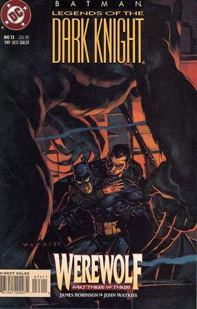 Batman: Legends of the Dark Knight #73 comic books for sale