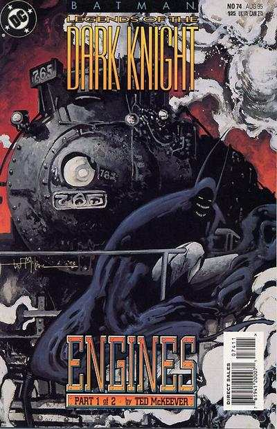 Batman: Legends of the Dark Knight #74 comic books - cover scans photos Batman: Legends of the Dark Knight #74 comic books - covers, picture gallery