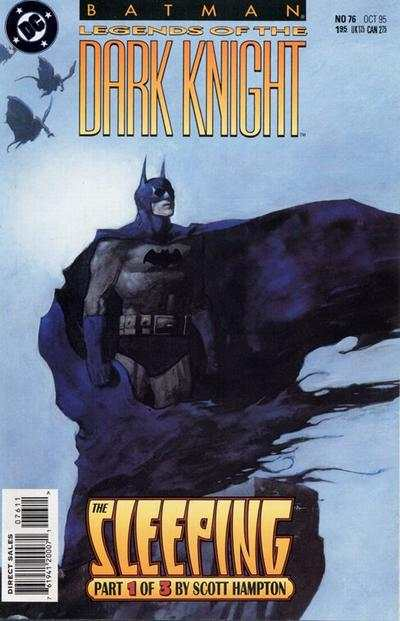 Batman: Legends of the Dark Knight #76 comic books - cover scans photos Batman: Legends of the Dark Knight #76 comic books - covers, picture gallery