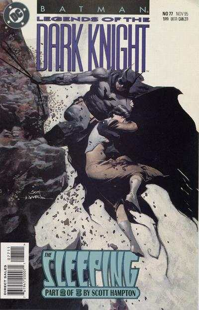 Batman: Legends of the Dark Knight #77 comic books for sale