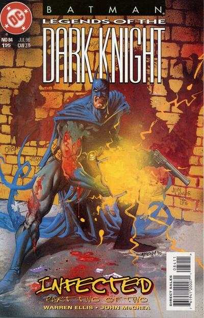 Batman: Legends of the Dark Knight #84 comic books - cover scans photos Batman: Legends of the Dark Knight #84 comic books - covers, picture gallery