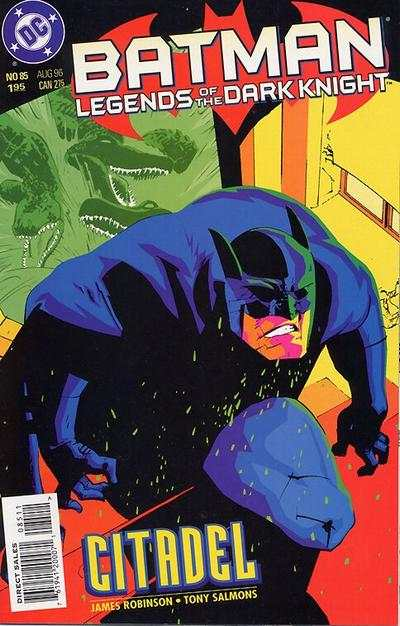 Batman: Legends of the Dark Knight #85 Comic Books - Covers, Scans, Photos  in Batman: Legends of the Dark Knight Comic Books - Covers, Scans, Gallery
