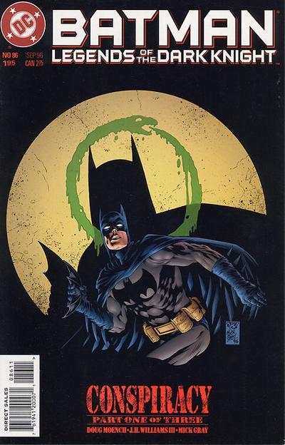 Batman: Legends of the Dark Knight #86 Comic Books - Covers, Scans, Photos  in Batman: Legends of the Dark Knight Comic Books - Covers, Scans, Gallery