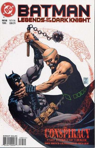 Batman: Legends of the Dark Knight #88 Comic Books - Covers, Scans, Photos  in Batman: Legends of the Dark Knight Comic Books - Covers, Scans, Gallery