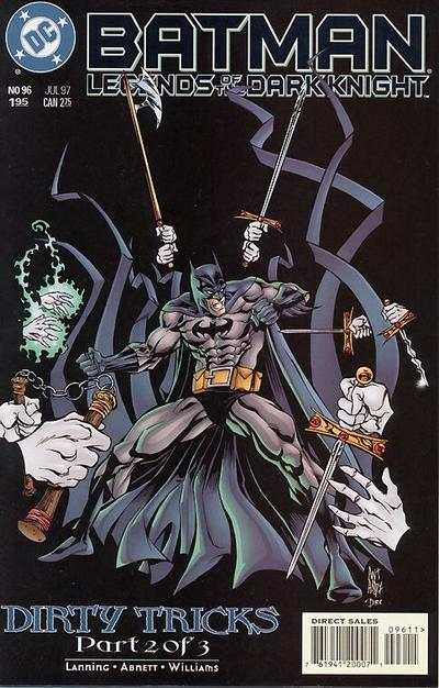 Batman: Legends of the Dark Knight #96 comic books - cover scans photos Batman: Legends of the Dark Knight #96 comic books - covers, picture gallery