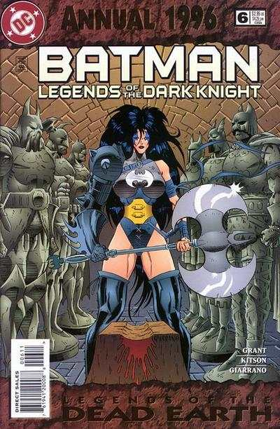 Batman: Legends of the Dark Knight #6 comic books - cover scans photos Batman: Legends of the Dark Knight #6 comic books - covers, picture gallery