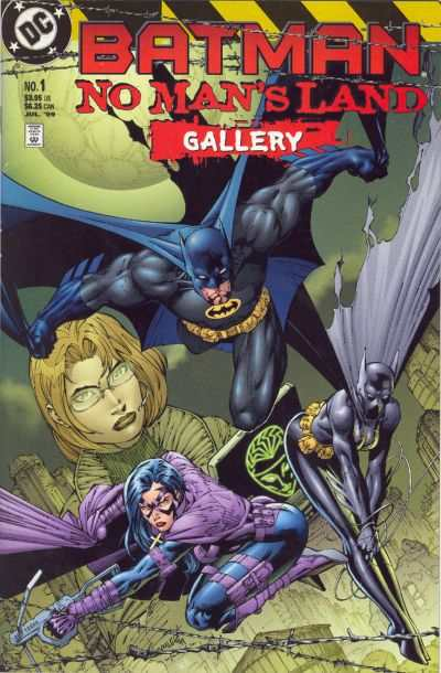 Batman: No Man's Land #1 comic books - cover scans photos Batman: No Man's Land #1 comic books - covers, picture gallery
