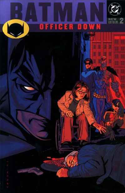 Batman: Officer Down comic books