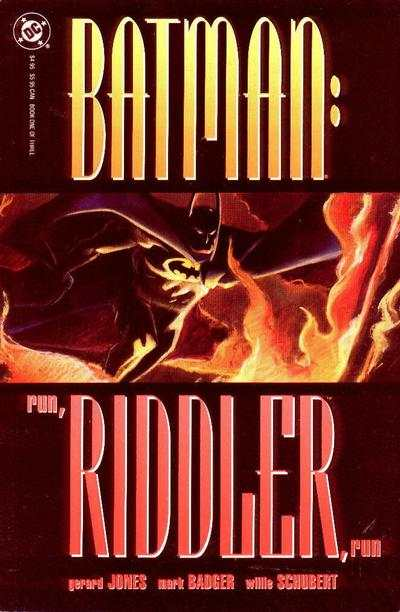 Batman: Run Riddler Run comic books