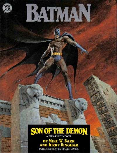 Batman: Son of the Demon - Hardcover #1 comic books - cover scans photos Batman: Son of the Demon - Hardcover #1 comic books - covers, picture gallery