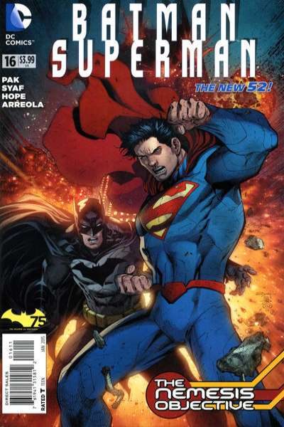 Batman/Superman #16 comic books for sale