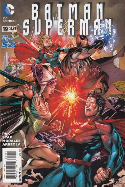 Batman/Superman #19 comic books for sale