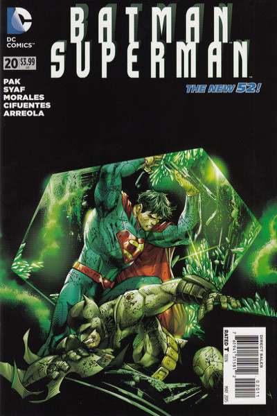 Batman/Superman #20 comic books for sale