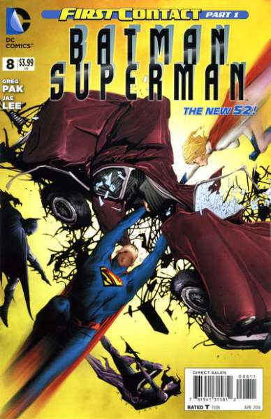 Batman/Superman #8 comic books for sale