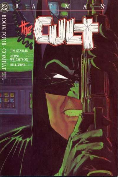 Batman: The Cult #4 comic books for sale