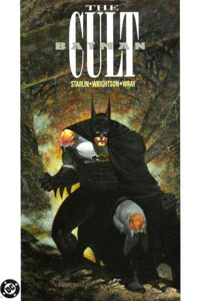 Batman: The Cult #1 comic books for sale