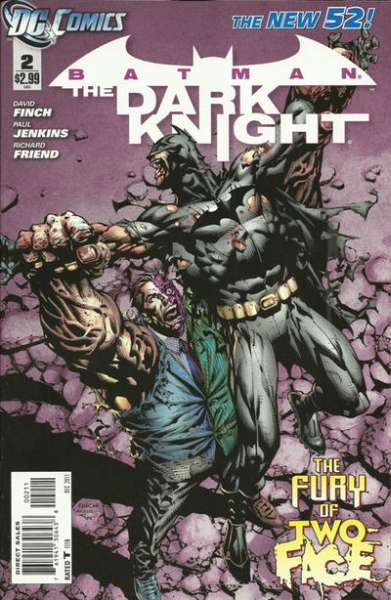 Batman: The Dark Knight #2 comic books - cover scans photos Batman: The Dark Knight #2 comic books - covers, picture gallery