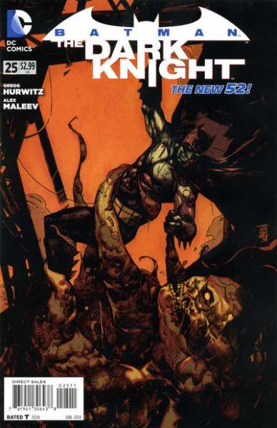Batman: The Dark Knight #25 Comic Books - Covers, Scans, Photos  in Batman: The Dark Knight Comic Books - Covers, Scans, Gallery