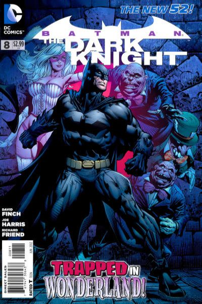 Batman: The Dark Knight #8 Comic Books - Covers, Scans, Photos  in Batman: The Dark Knight Comic Books - Covers, Scans, Gallery