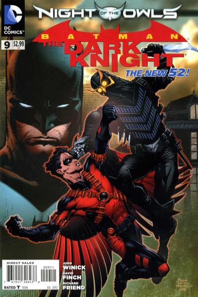 Batman: The Dark Knight #9 Comic Books - Covers, Scans, Photos  in Batman: The Dark Knight Comic Books - Covers, Scans, Gallery