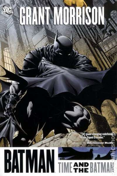 Batman: Time and the Batman - Hardcover #1 comic books - cover scans photos Batman: Time and the Batman - Hardcover #1 comic books - covers, picture gallery
