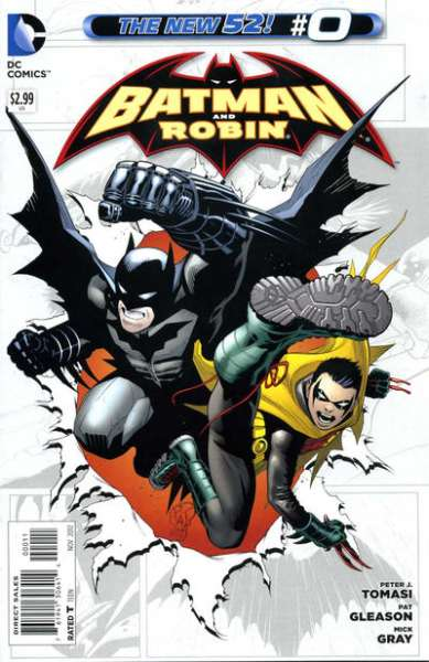 Batman and Robin #0 comic books - cover scans photos Batman and Robin #0 comic books - covers, picture gallery