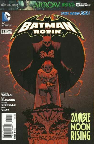 Batman and Robin #13 comic books for sale