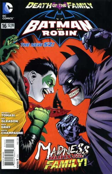 Batman and Robin #16 comic books - cover scans photos Batman and Robin #16 comic books - covers, picture gallery