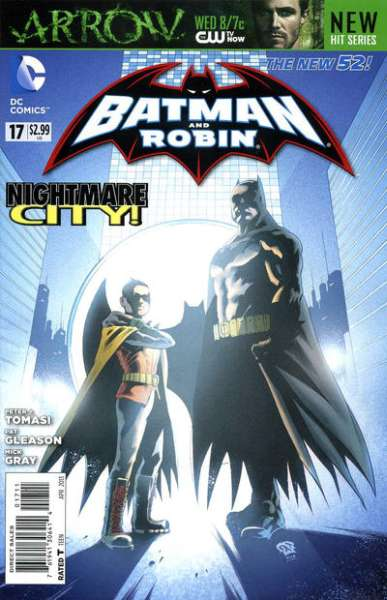 Batman and Robin #17 comic books - cover scans photos Batman and Robin #17 comic books - covers, picture gallery