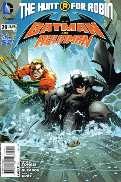 Batman and Robin #29 comic books - cover scans photos Batman and Robin #29 comic books - covers, picture gallery