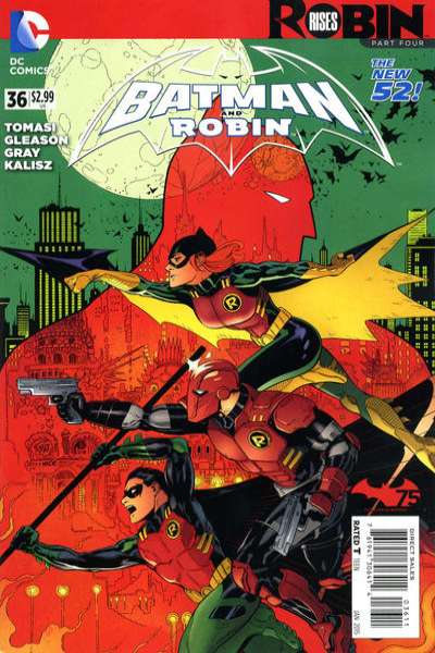 Batman and Robin #36 comic books for sale