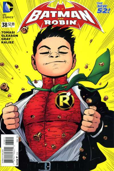 Batman and Robin #38 comic books for sale